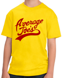 Youth Yellow Average Joe's - Dodgeball Movie Homage Funny Ben Stiller Humor T-shirt