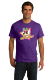 Standard Purple Awesome Oppossum! - Funny 80s Nostalgia Skateboarding Joke T-shirt