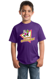 Youth Purple Awesome Oppossum! - Funny 80s Nostalgia Skateboarding Joke T-shirt
