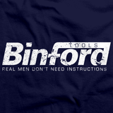 Binford Tools Navy art preview