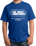 Youth Royal Go F*Ck Y**Rs*Lf - Buy A Vowel - Adult Humor Rude Vulgar Joke T-shirt