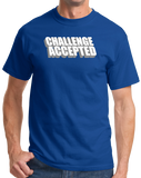 Standard Royal CHALLENGE ACCEPTED T-shirt