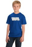 Youth Royal CHALLENGE ACCEPTED T-shirt