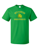 Standard Green Cheesehead - Wisconsin Pride Raised on the Dairy T-shirt