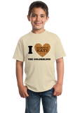 Youth Natural I <3 (SECRETLY HATE) THE COLORBLIND T-shirt