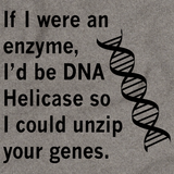 DNA Helicase - Unzip Your Genes Grey art preview
