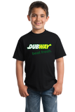 Youth Black DUBWAY, BEAT FRESH T-shirt