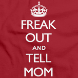 FREAK OUT AND TELL MOM Red art preview