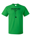 Unisex Green Freshman Boys: Get 'Em While They're Skinny - College Humor T-shirt