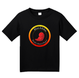 Youth Black Bhut Jolokia Ghost Chili Pepper - Hot Pepper Trinidad Scorpion T-shirt
