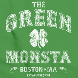 "SOX FAN ""GREEN MONSTAH""  Green art preview"