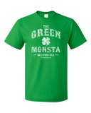 Standard Green The Green Monstah - Boston Red Sox Fan Tribute Fenway Park T-shirt