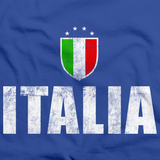 Italia / Italy Soccer Royal Blue art preview
