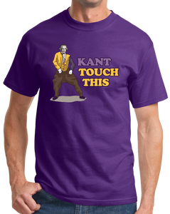 Standard Purple Kant Touch This - Continental Philosophy Joke Humor Academic T-shirt
