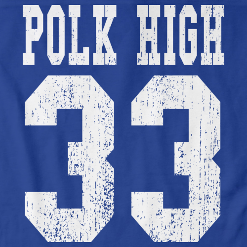 POLK HIGH 33 Royal Blue art preview
