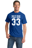 Standard Royal Polk High 33 - Al Bundy Married With Children Funny 90s TV T-shirt