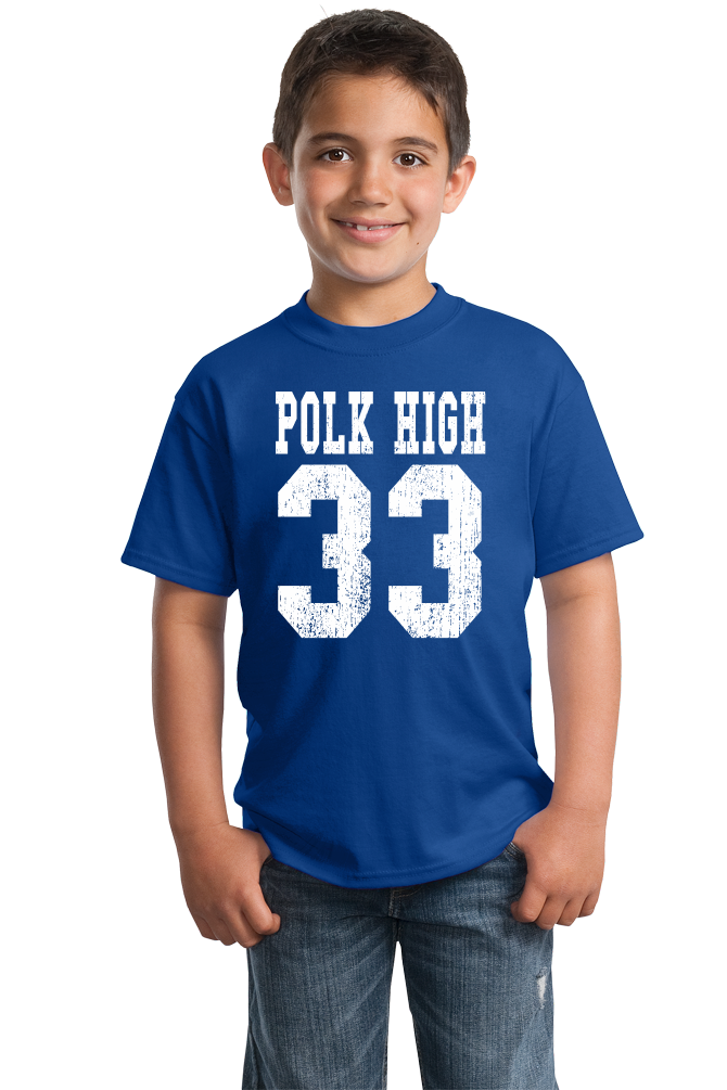 Youth Royal Polk High 33 - Al Bundy Married With Children Funny 90s TV T-shirt