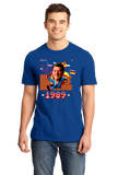 Standard Royal Epic Ronald Reagan Punching Through Berlin Wall - Patriotism T-shirt