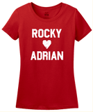 Ladies Red Rocky <3 Adrian T-shirt