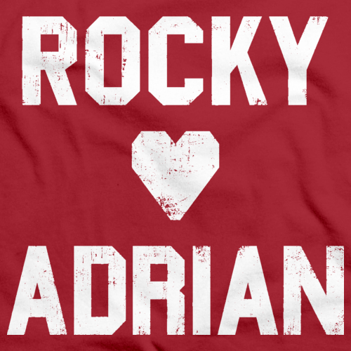 Rocky <3 Adrian Red art preview