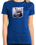 Ladies Royal Detroit: Arsenal Of Democracy - WW2 History Tank Tigers Lions T-shirt