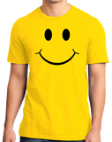 Standard Yellow Smiley Face (Smile) ! - Happy Optimist Cheerful Sunny T-shirt