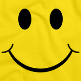 SMILEY FACE (SMILE) TEE! Yellow art preview