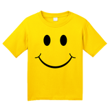 Youth Yellow Smiley Face (Smile) ! - Happy Optimist Cheerful Sunny T-shirt
