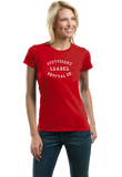 Ladies Red STUYVESANT PHYS ED LEADER  T-shirt