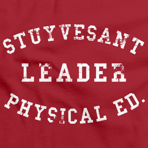 STUYVESANT PHYS ED LEADER  Red art preview