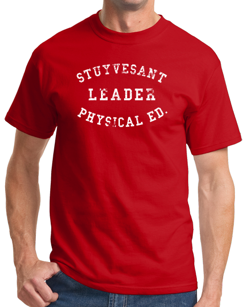 Standard Red STUYVESANT PHYS ED LEADER  T-shirt