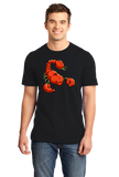 Standard Black Trinidad Moruga Scorpion Pepper - Pepper Fan Hot Spicy Foodie T-shirt