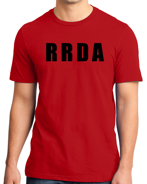 Unisex Red RRDA - I fxed up bigger shows than yours T-shirt
