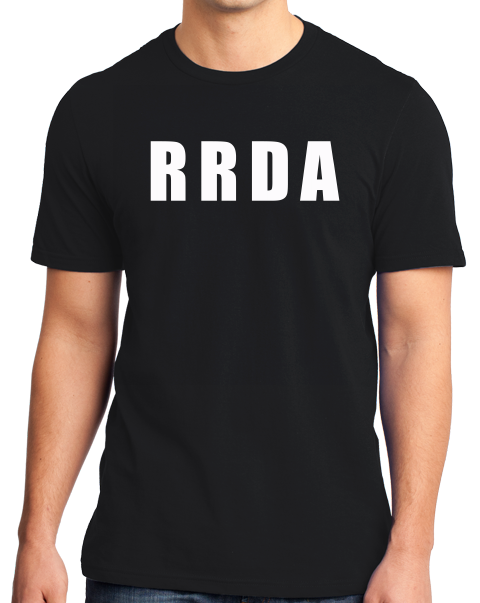 Unisex Black RRDA - I Fxcked up nicer busses than yours T-shirt