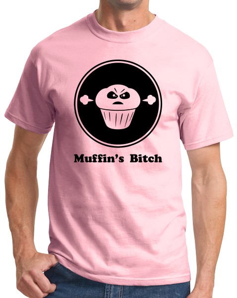 Unisex Pink RRDA - Muffin's Bitch T-shirt