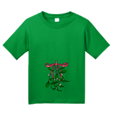 Youth Green Oh *There's* the Mistletoe - Christmas Raunchy Humor Mistletoe T-shirt