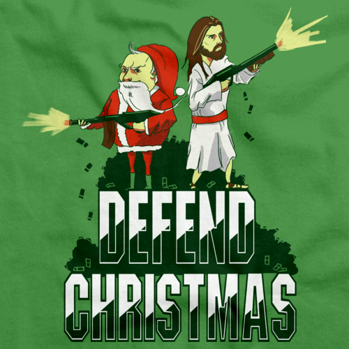 Defend Christmas! Green Art Preview