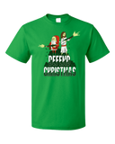 Standard Green Defend Christmas! - Christmas Christ In Jesus Santa Fun Humor T-shirt