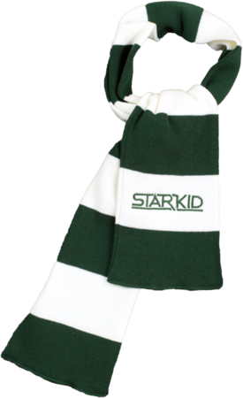 Team StarKid - Green and White Starkid Winter House Scarf