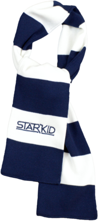 Team StarKid - Navy and White Starkid Winter House Scarf