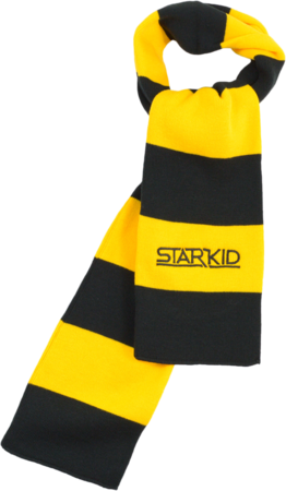 Team StarKid - Gold and Black Starkid Winter House Scarf