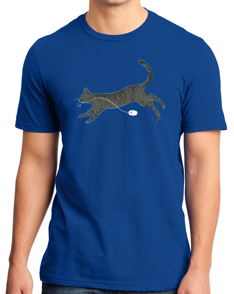 Standard Royal Cat And Mouse T-shirt
