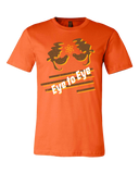 Standard Orange Eye to Eye Goofy Movie Inspired Tee T-shirt