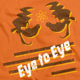 Eye to Eye Goofy Movie Inspired Tee Orange art preview