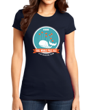 Girly Navy Fail Whale Pale Ale T-shirt