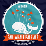Fail Whale Pale Ale Navy art preview