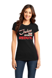 Girly Black Judas Redux Logo T-shirt