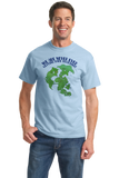 Standard Light Blue Pangaea Never Getting Back Together T-shirt