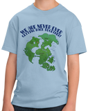 Youth Light Blue Pangaea Never Getting Back Together T-shirt