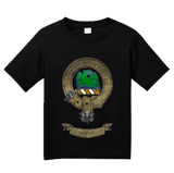 Youth Black Clan Agnew - Scottish Pride Heritage Ancestry Family History T-shirt